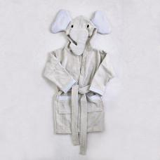 Bata de baño infantil con capucha Elefante Haus
