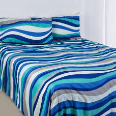 Juego de sábanas Mar Azul