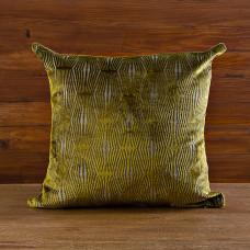 Forro para cojín Textura Verde Mihos