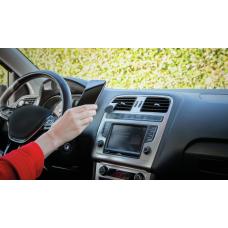 Soporte de celular para vehículo con sujeción magnética en salida Runo Trust