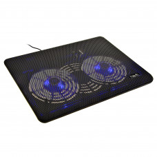 Cooling pad 2 ventiladores con luz LED HV-F2035 Havit