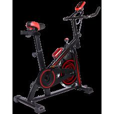 Bicicleta Spinning 18kg con monitor de Velocidad / Tiempo / Distancia / Calorías / Pulso GM98589