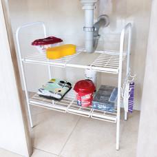 Organizador ajustable para mueble de baño