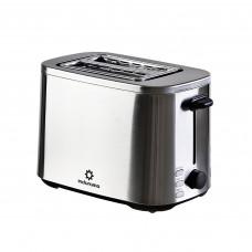Tostadora de acero inoxidable para 2 panes congela / descongela 800W TPI-2CR Indurama