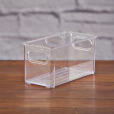 Caja organizadora multiuso con agarraderas Clear Plasútil