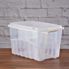Caja organizadora con tapa hermética Plasútil