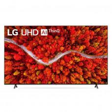 """LG TV 4K / 20W / BT / Wi-Fi / Google / Alexa / 4 HDMI / 3 USB 86UP8050PSB 86"""""""