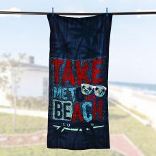 Toalla playera Regatta Estampada Take Beach San Pedro
