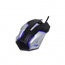 Mouse gaming USB MS6610BK Unno