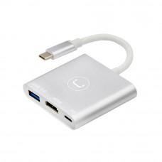 HUB 3-en-1 HDMI / USB 3.0 / Carga HB1101SV Unno