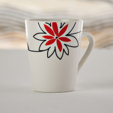Jarro 9oz Flor Roja Aura