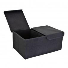Caja organizadora con tapa 2 divisiones