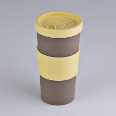 Vaso con tapa para café Nutri Coza