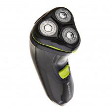 Afeitadora masculina rotativa inalámbrica / lavable con aditivo antimicrobiano Power Flex R31A Remington
