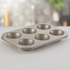 Molde para muffins antiadherente / aluminio Umco