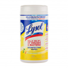 Juego de 80 toallas desinfectantes Lemon & Lime Blossom Lysol