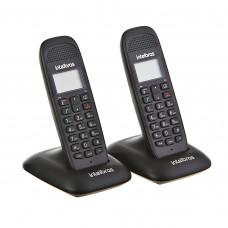 Teléfono inalámbrico 2 auriculares DECT 6.0 TS 2312 Intelbras