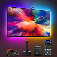 Luz LED Wi-Fi con cámara 1080P para TV Govee H6199