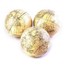Juego de 3 esferas Globo terráqueo Haus