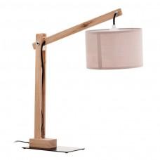 lámpara de mesa.