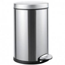 Basurero con fundas de basura Simplehuman 4.5 L Plateado