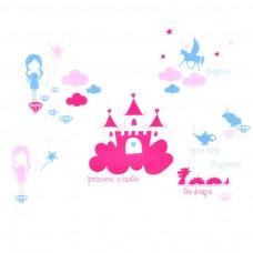 Vinilo decorativo Princess Tale MyVinilo