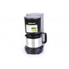 Cafetera 4 tazas acero inoxidable Cuisinart