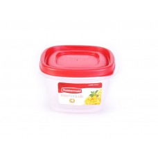 Repostero cuadrado apilable Easy Find Rubbermaid