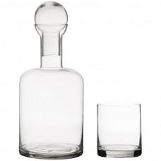 Juego de 6 vasos y botella para whisky Dolce Vita