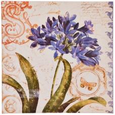 Cuadro Flor Multicolor