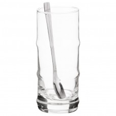 Juego de 12 piezas para postre vidrio Novo
