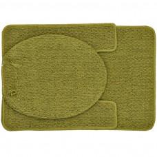 Juego de 3 alfombras Bucle