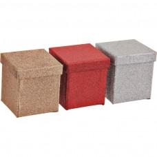 Caja de regalo Square Glitter