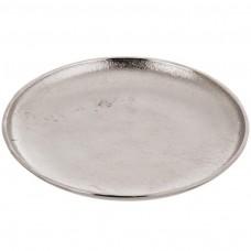 Plato redondo Silver