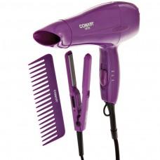 Secador de cabello con mini plancha Tecnología Cerámica 1875W Conair