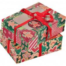 Juego de cajas para galletas Navidad