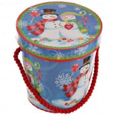 Balde para dulces con tapa surtido Navidad