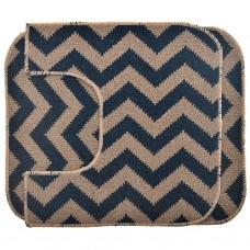 Juego de alfombras de baño Ecca