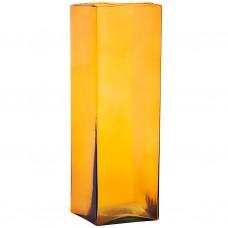 Jarrón cuadrado de cristal Tropical Marrés