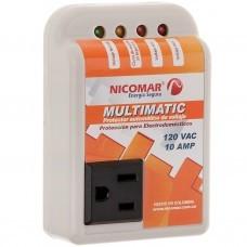 Protector de voltaje para audio y video Nicomar