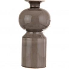 Florero alargado de cerámica