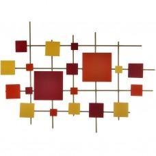 Aplique para pared 81x114 cm acero Makadamia