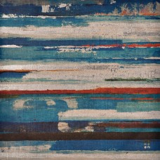 Cuadro abstracto rayas 60x60 cm