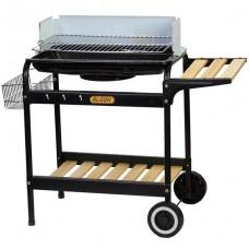 BBQ carbón con ruedas y canasta Algon