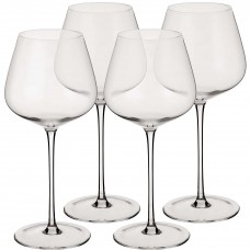 Juego de 4 copas para vino tinto Novo
