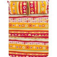 Juego de sábanas polialgodón Multicolor Prisma