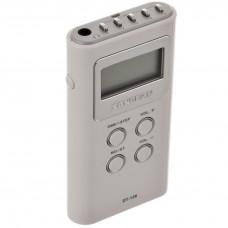Radio digital portátil con audífonos Sangean