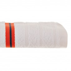 Toalla de manos 50x80 cm Multi Rayas Vittorio 100% algodón 460grs Saafartex