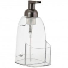 Dispensador para jabón con porta esponja Espuma Interdesign
