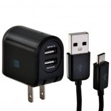Cargador para pared con cable Micro USB negro Case Logic